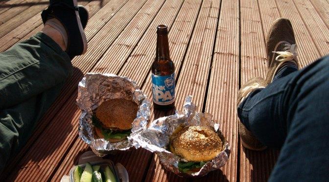 Sweet potato burgers at home