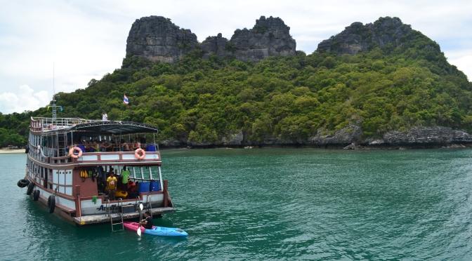 Koh Phangan, part 3 – trip to Angthong Marine Park