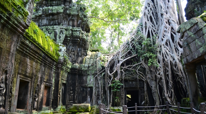 Siem Reap and ancient temples of Angkor