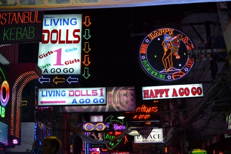 Walking street Pattaya, Thailand