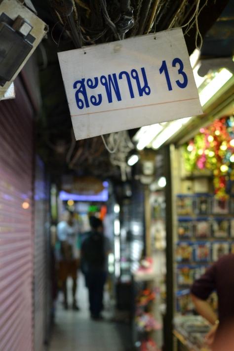 Klong Ong Ang market, Bangkok