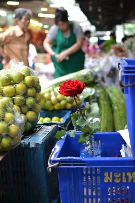 Flower market Pak Khlong Talat, Bangkok