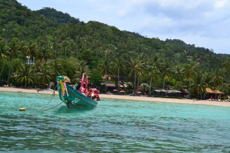 Koh Tao, Sairee beach