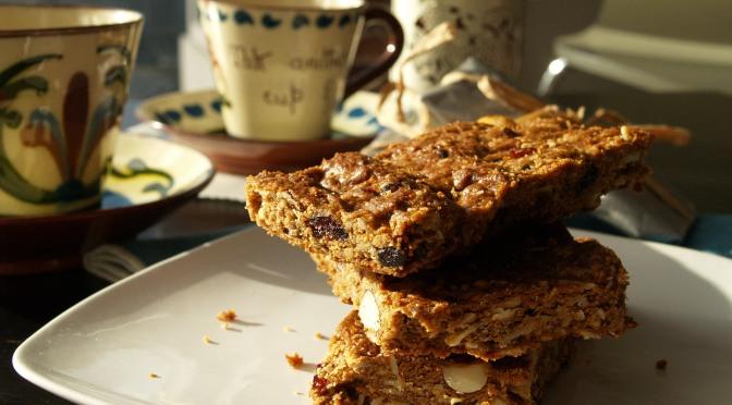 Nutritious peanut butter granola bars