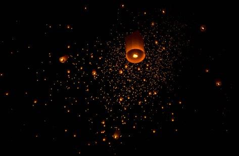 Maejo Lanterns Festival Chiang Mai