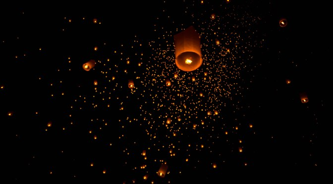 The Magical Sky Lantern Release at Mae Jo, Chiang Mai
