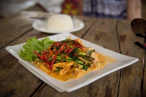 Ko Chang Panang curry Siam Cottage
