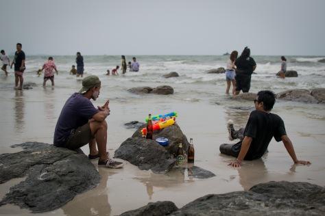 Songkran Hua Hin beach