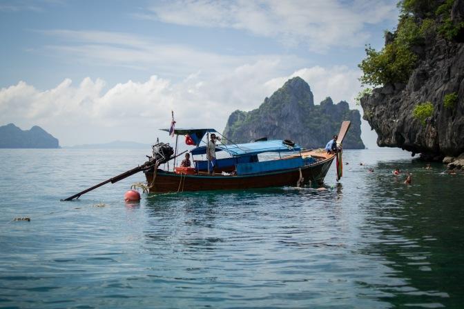Koh Lanta, Days 3 and 4: cycling, swimming and snorkelling
